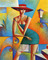 2001 / Artist Georgy Kurasov, the painter, the sculptor