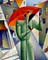 1996 / Artist Georgy Kurasov, the painter, the sculptor