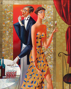 Artist Georgy Kurasov, the painter, the sculptor